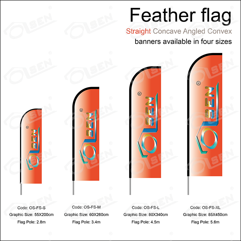 Feather flag