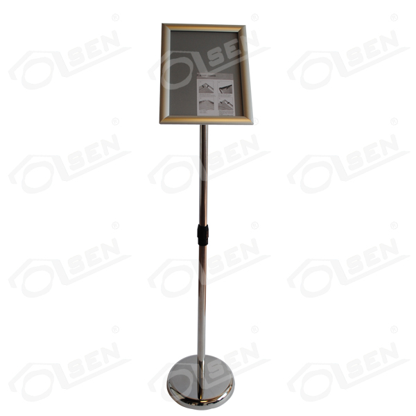 Poster holder A3 (Rounded base)