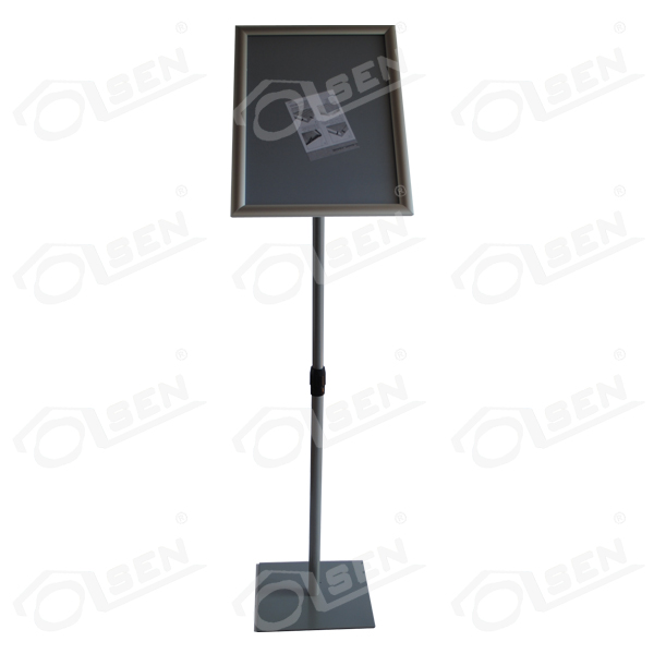 Poster holder A3 (Rectangular base)