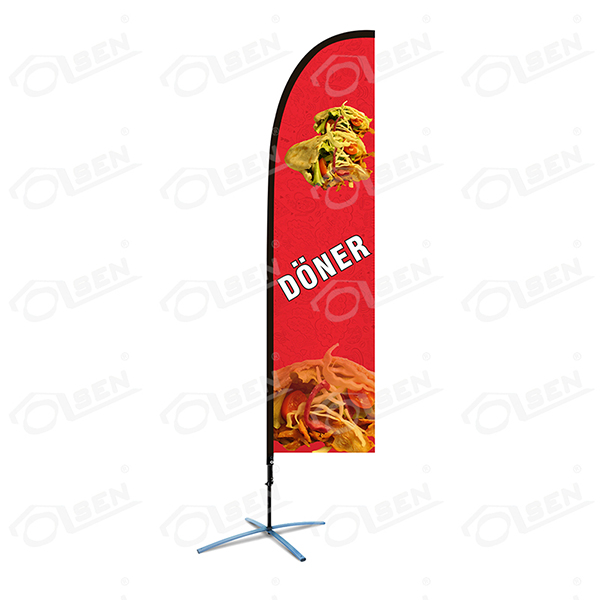S size(2.9m) feather flag